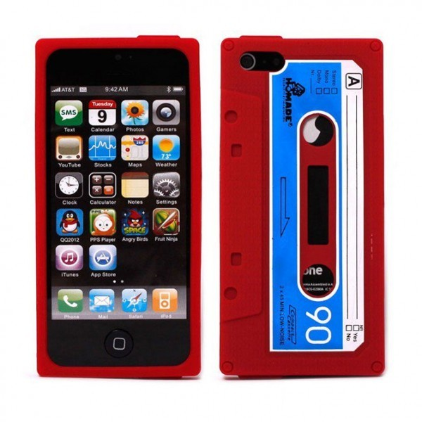 coque iphone K7rouge